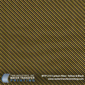 Carbon Fiber Yellow Black